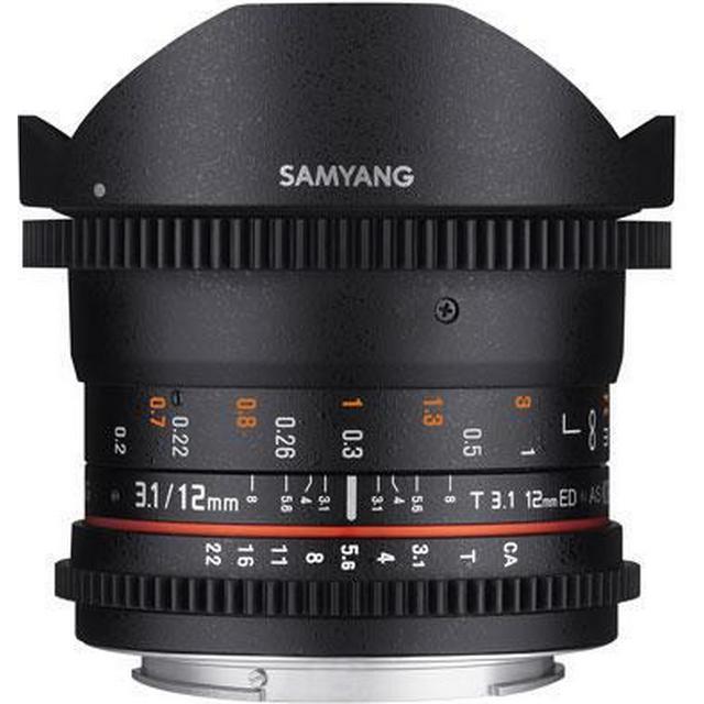 Samyang 12mm T3.1 VDSLR ED AS NCS Fisheye for Micro Four Thirds