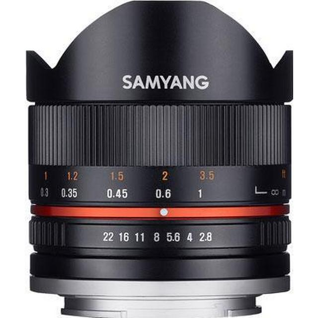 Samyang 8mm F2.8 UMC Fisheye II for Canon M