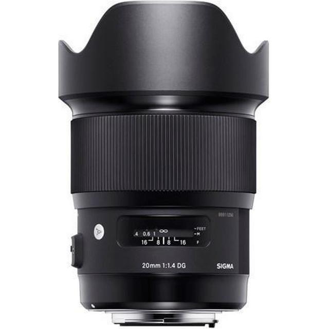 Sigma 20mm F1.4 DG HSM Art for Sigma