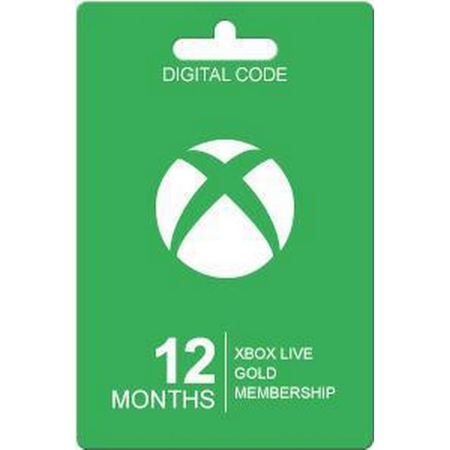 Microsoft Xbox Live Gold Card - 12 Month