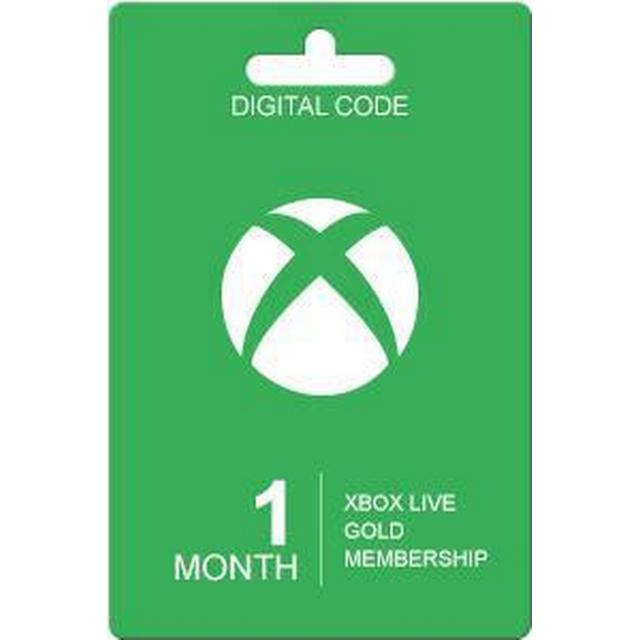 Microsoft Xbox Live Gold Card - 1 Month