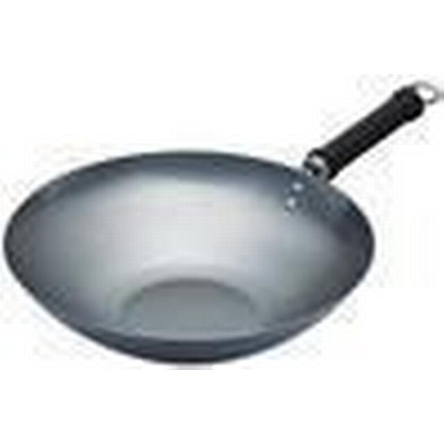 Kitchencraft Oriental Plain Wok 30cm