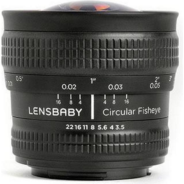 Lensbaby Circular Fisheye 5.8mm f/3.5 for Sony Alpha E