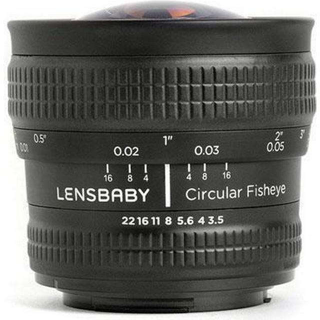 Lensbaby Circular Fisheye 5.8mm f/3.5 for Fuji X