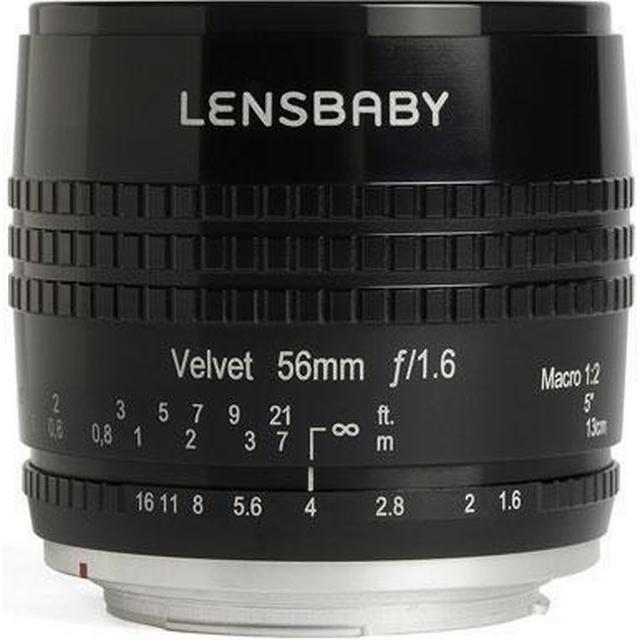 Lensbaby Velvet 56mm f1.6 for Canon