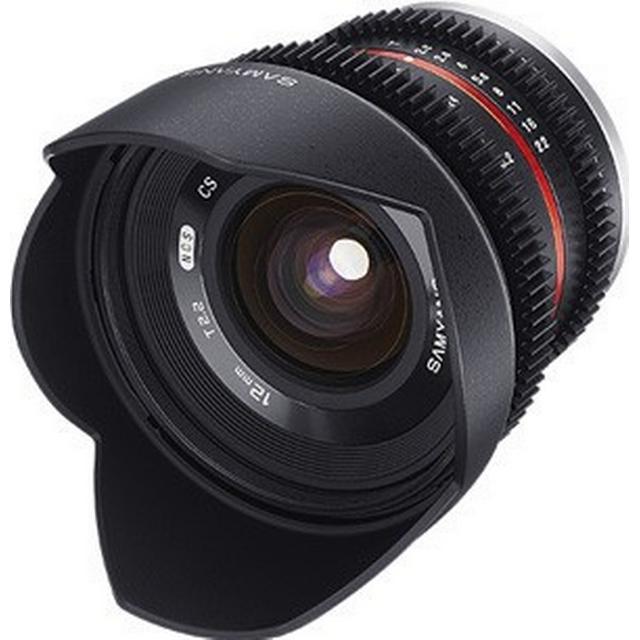 Samyang 12mm T2.2 VDSLR NCS CS for Fujifilm X