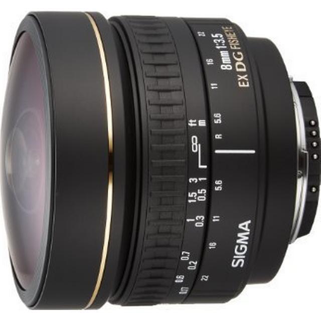 Sigma 8mm F3.5 EX DG Circular Fisheye for Nikon