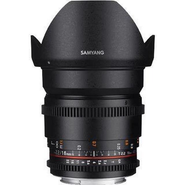 Samyang 16mm T2.2 VDSLR ED AS UMC CS II for Canon EF