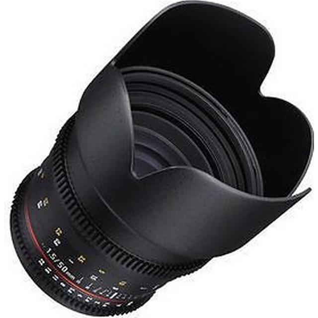 Samyang 50mm T1.5 VDSLR AS UMC Lens for Canon EF