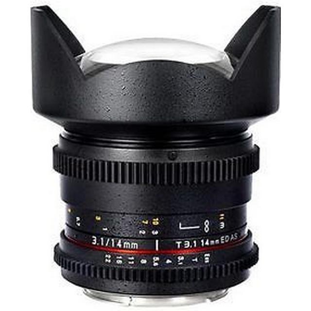 Samyang 14mm T3.1 VDSLR ED AS IF UMC II for Sony E