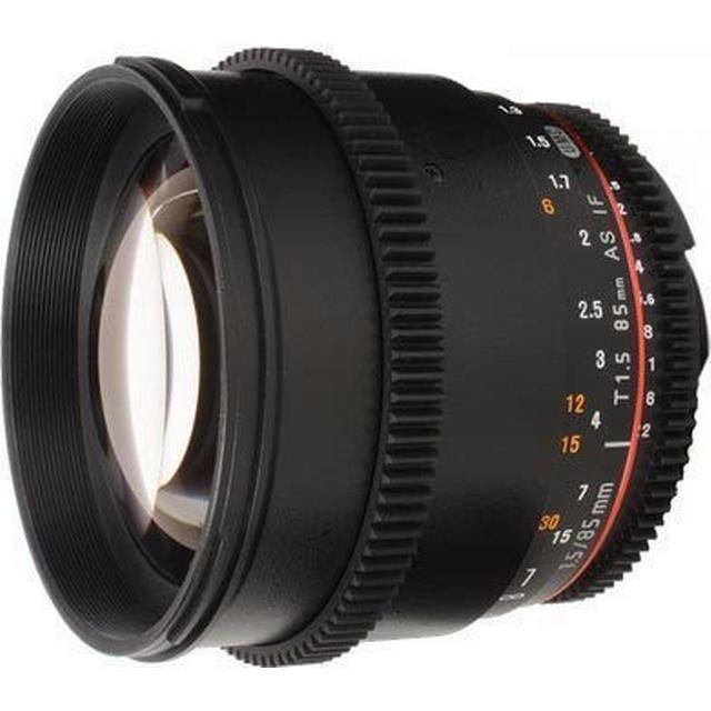 Samyang 85mm T1.5 AS IF UMC VDSLR II for Canon EF