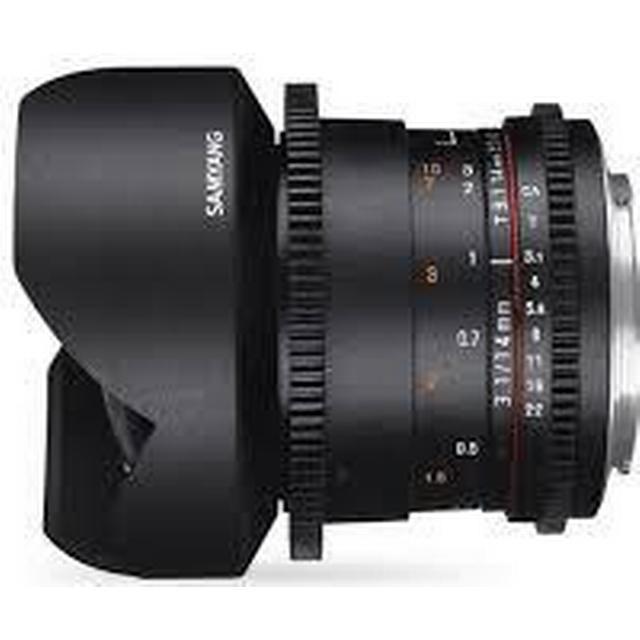 Samyang 14mm T3.1 VDSLR ED AS IF UMC II for Canon M