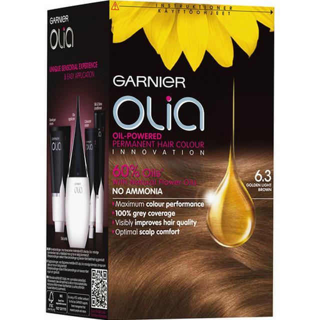 Garnier Olia Permanent Hair Colour 6.3golden Light Brown