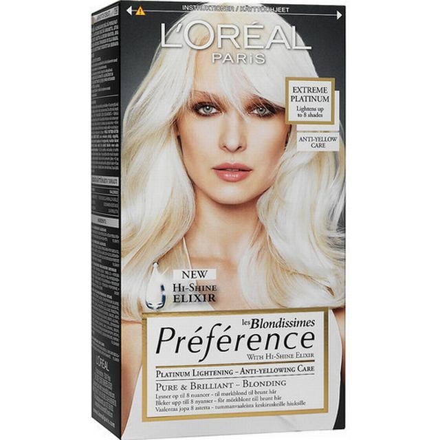 L'Oreal Paris les Blondissimes Préférence Extreme Platinum