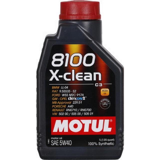 Motul 8100 X-Clean 5W-40 1L Motor Oil