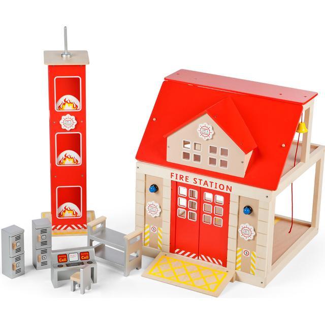 Tidlo Fire Station Set