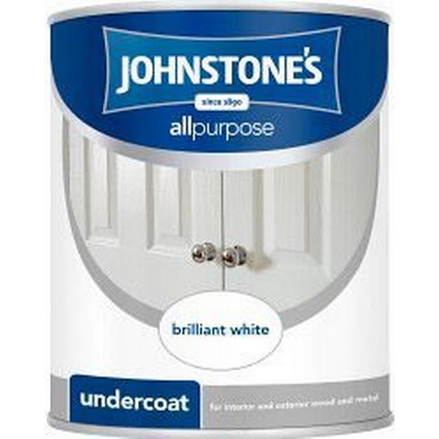Johnstones Undercoat Wood Paint White 2.5L