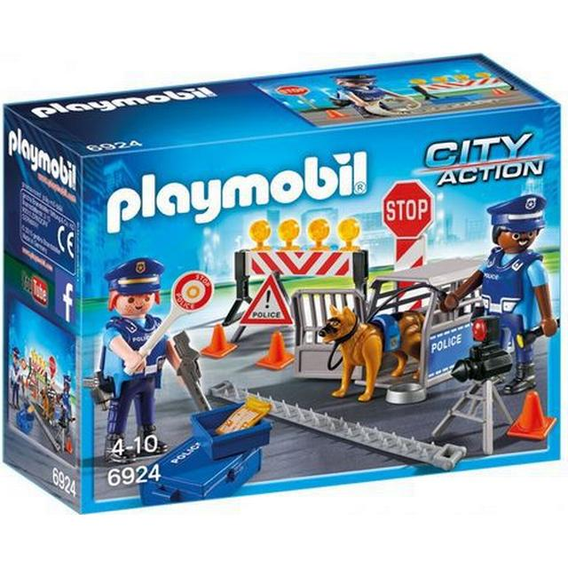 Playmobil Police Roadblock 6924