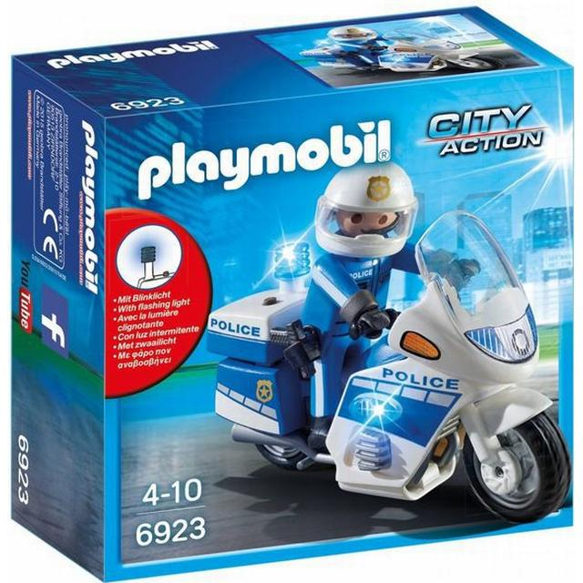Playmobil Police Bike with LED Light 6923
