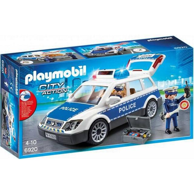 Playmobil Squad Car With Lights & Sound 6920