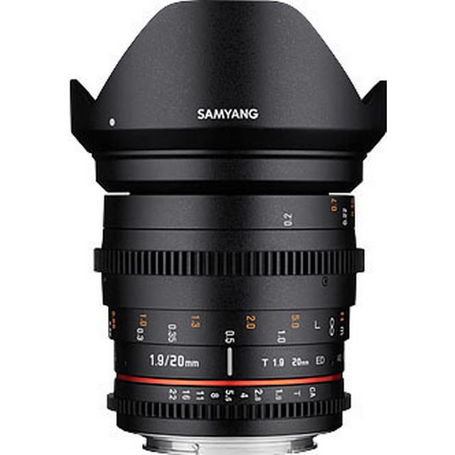 Samyang 20mm T1.9 ED AS UMC for Canon EF