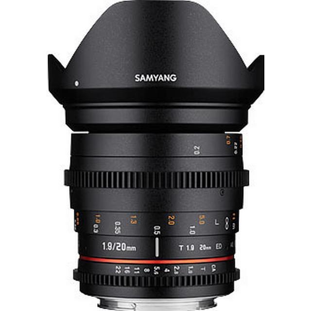 Samyang 20mm T1.9 ED AS UMC for Canon M