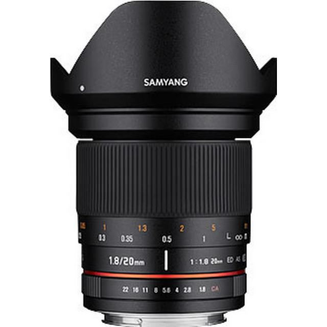Samyang 20mm F1.8 ED AS UMC for Micro Four Thirds
