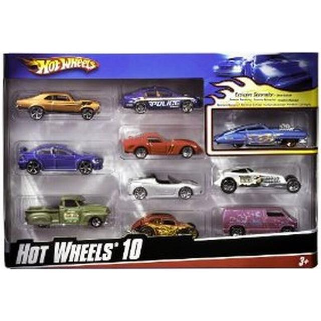 Hot Wheels 10 Car Pack