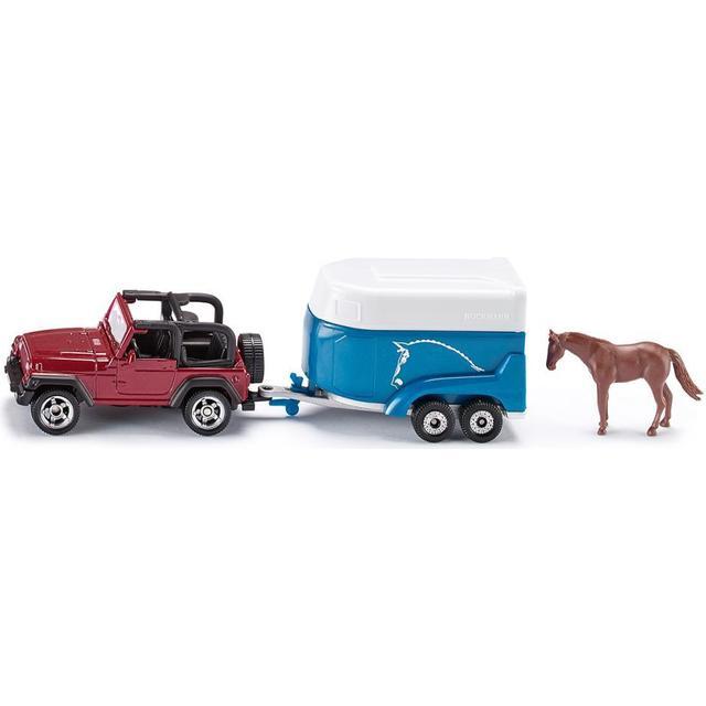 Siku Jeep with Horse Trailer 1651