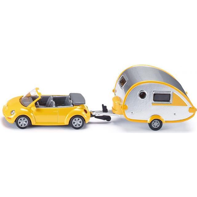 Siku Car with Trailer Caravan 1629