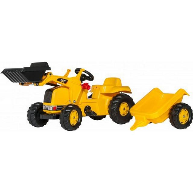 Rolly Toys Caterpillar Tractor with Frontloader & Trailer