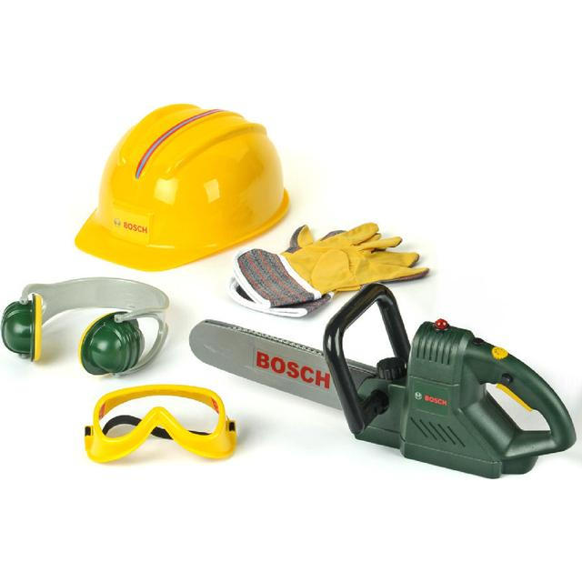 Klein Bosch Chainsaw, Helmet & Work Gloves 8525