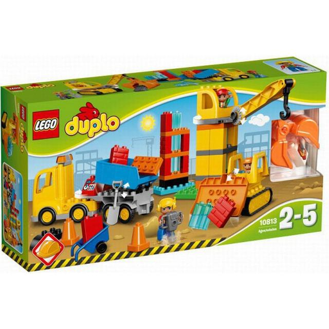 Lego Duplo Big Construction Site 10813