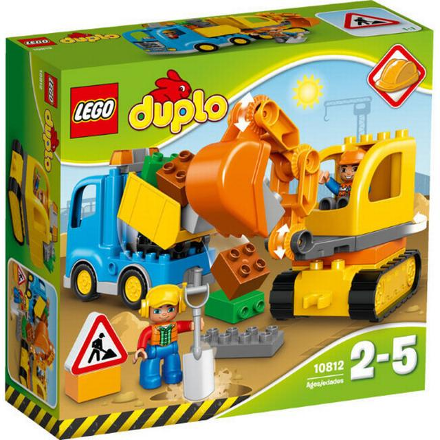 Lego Duplo Truck & Tracked Excavator 10812