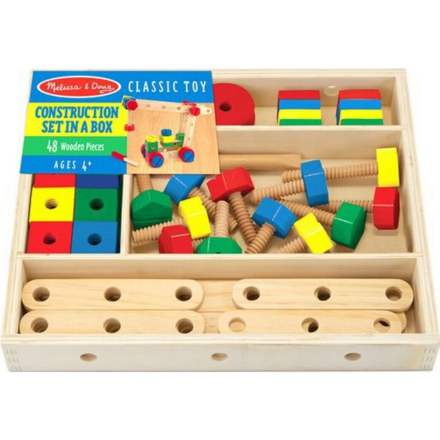 Melissa & Doug Construction Building Set in a Box
