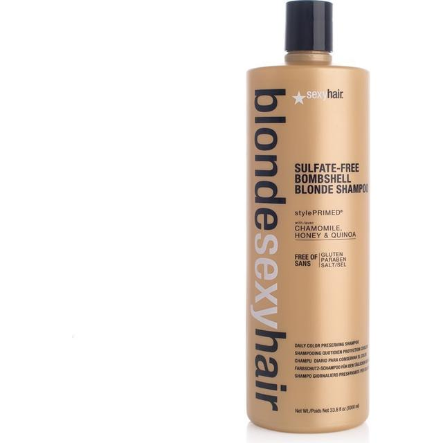 Sexy Hair Blonde Sulfate-Free Bombshell Daily Color Preserving Shampoo 1000ml
