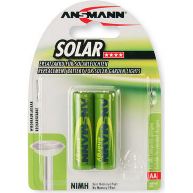 Ansmann Solar NiMH Mignon AA 800mAh MaxE 2-pack