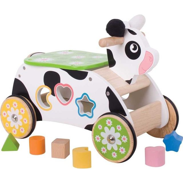 Bigjigs Cow Ride On