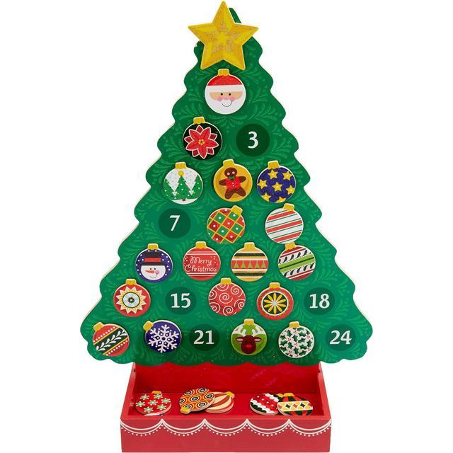 Melissa & Doug Countdown to Christmas Wooden Religious Advent Calendar 2013