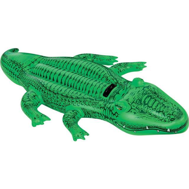Intex Inflatable Giant Floating Ride On Crocodile