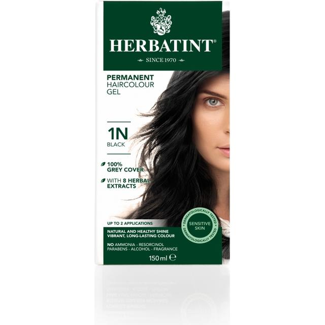 Herbatint Permanent Herbal Hair Colour 1N Black
