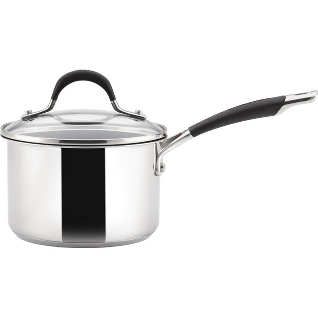 Circulon Momentum Stainless Steel Saucepan Sauce Pan with lid 16cm