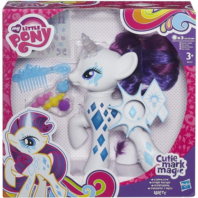 Hasbro My Little Pony Cutie Mark Magic Glamour Glow Rarity Figure B0367