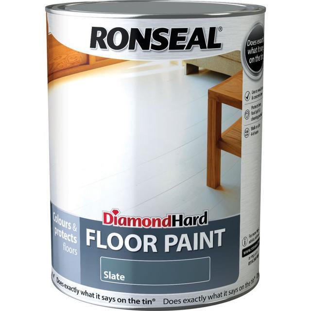 Ronseal Diamond Hard Floor Paint Grey 5L