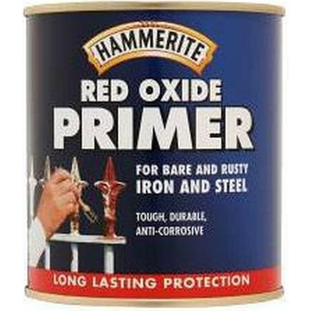 Hammerite Red Oxide Metal Paint Red 0.25L