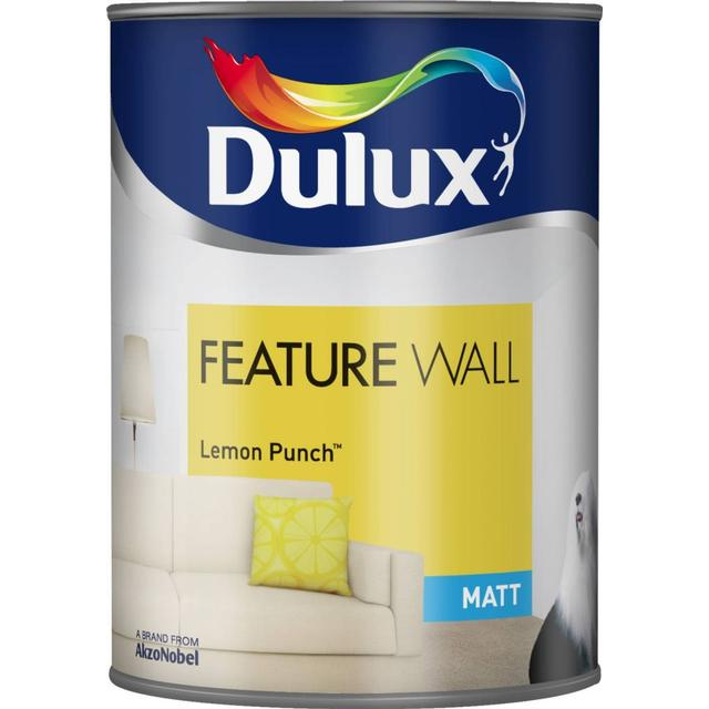 Dulux Feature Wall Paint Yellow 1.25L