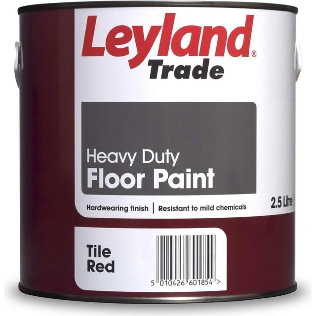 Leyland Trade Heavy Duty Floor Paint Red 2.5L