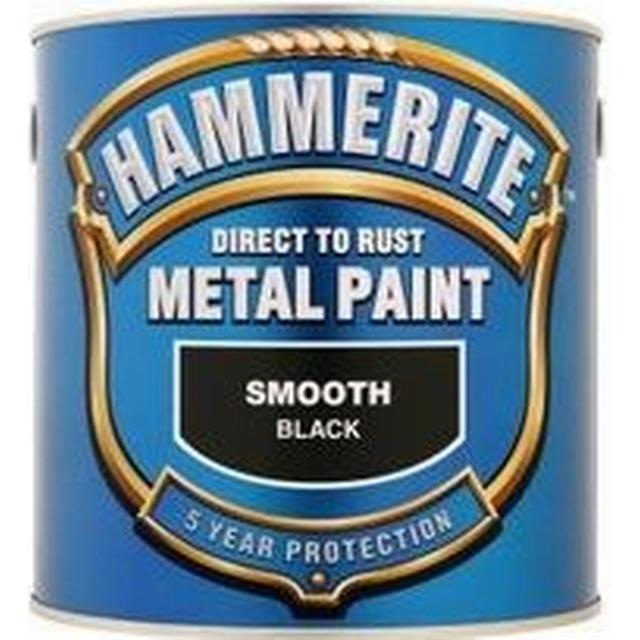 Hammerite Direct to Rust Smooth Effect Metal Paint Black 2.5L
