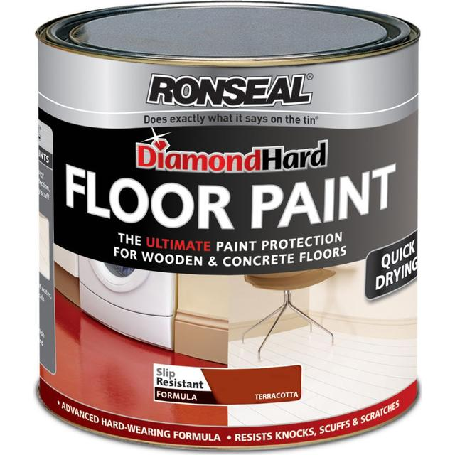 Ronseal Diamond Hard Floor Paint Brown 0.75L