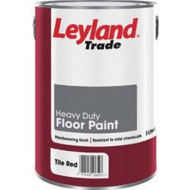 Leyland Trade Heavy Duty Floor Paint Grey 2.5L